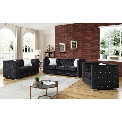 Paddington 3 Piece Configurable Living Room Set
