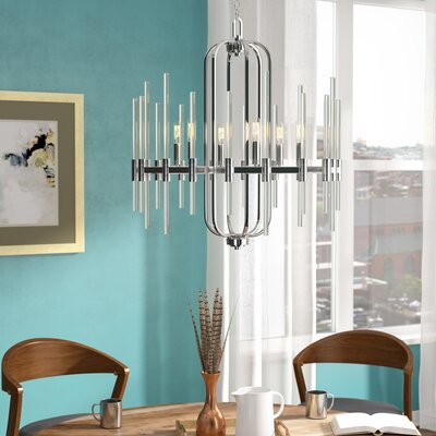 Karn 6-Light Candle-Style Chandelier
