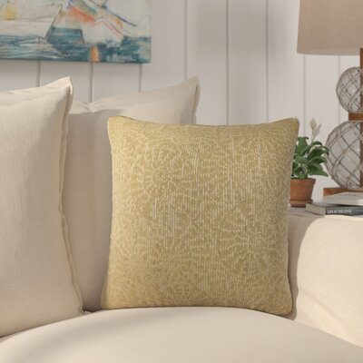 Sunbury Tide Pool Throw Pillow Size: 18 x 18, Color: Sea Grass / Green