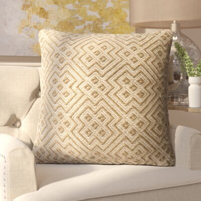 Halewood Outdoor Throw Pillow Color: Brown