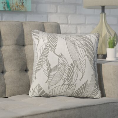Sarthak Glistening Leaf Sunbrella Indoor/Outdoor Throw Pillow