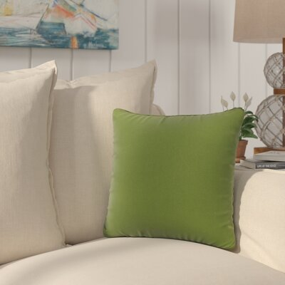 Golden Canvas Sunbrella Indoor/Outdoor Throw Pillow Color: Green