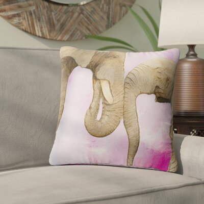 Gorrell Edney Love Throw Pillow Size: 24X24