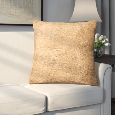 Kingsview Throw Pillow Color: Gold