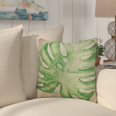 Barksdale Palm Leaf Throw Pillow