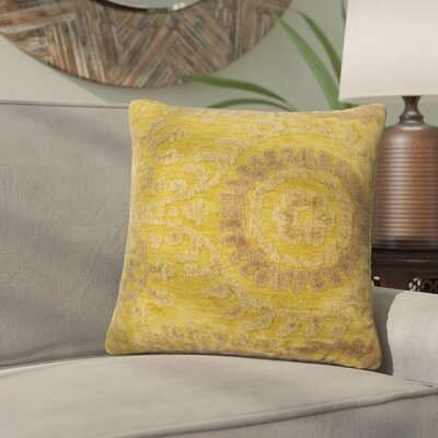 Wyant Throw Pillow Size: 22 H x 22 W x 6 D, Color: Light Green