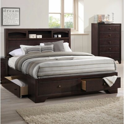 Trafecanty II Queen Storage Panel Bed