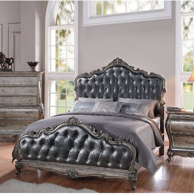 Linehan Queen Upholstered Panel Bed