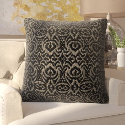Tickhill Indoor/Outdoor Throw Pillow Color: Black/Gray