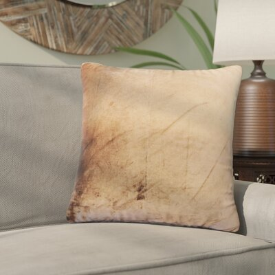 Nystrom Ombre Throw Pillow Color: Mocha