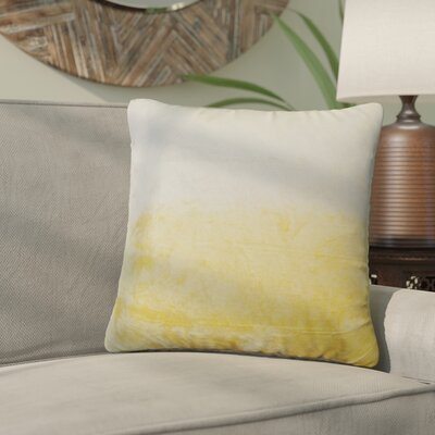 Nystrom Ombre Throw Pillow Color: Hummus
