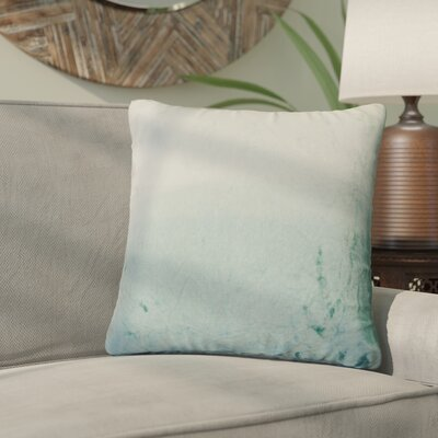 Nystrom Ombre Throw Pillow Color: Seafoam