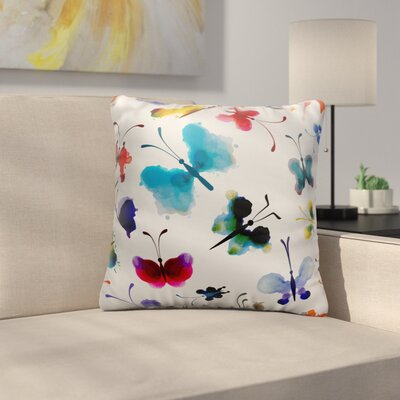 Dall Throw Pillow