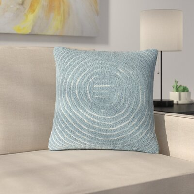 Mulhall Circle Throw Pillow Color: Blue