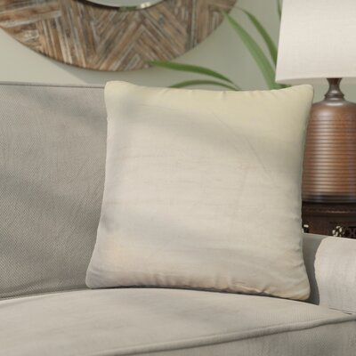 Nystrom Ombre Throw Pillow Color: Ivory