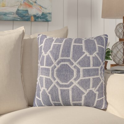 Daigre 100% Cotton Throw Pillow Color: Navy