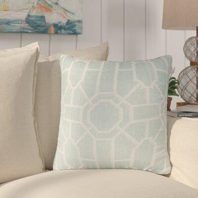 Daigre 100% Cotton Throw Pillow Color: Blue