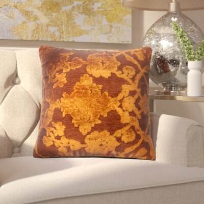 North Point Throw Pillow Size: 18 H x 18 W x 6 D, Color: Tomato