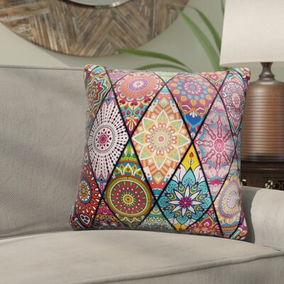 Pinter Colorful Mandalas Throw Pillow