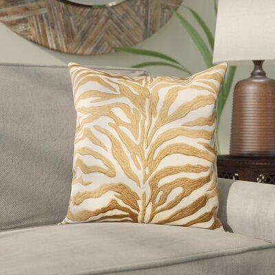 Wolbert Throw Pillow Color: Bronze
