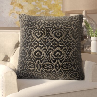 Wincanton Outdoor Throw Pillow Color: Black / Gray