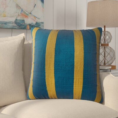 Vivanco Indoor/Outdoor Throw Pillow Color: Green/Blue