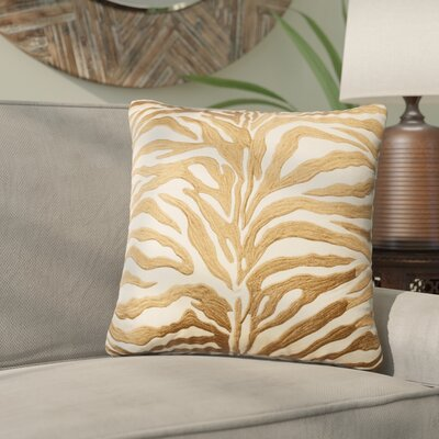 Yarbrough Throw Pillow Color: Bronze