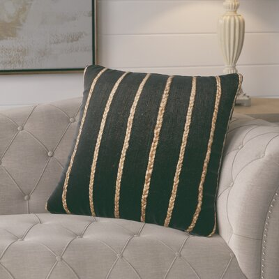 Firger Throw Pillow Color: Black