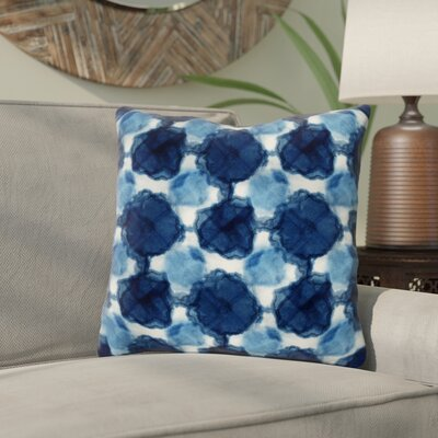 Rangel Circles Throw Pillow Size: 16x 16