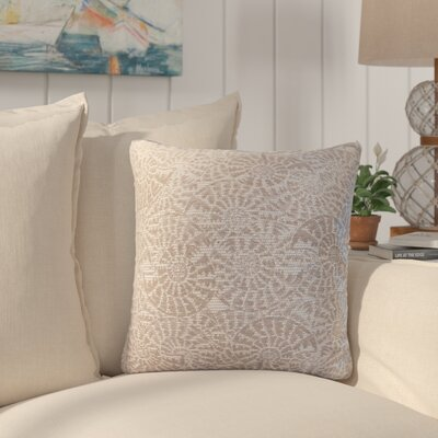 Sunbury Tide Pool Throw Pillow Size: 24 x 24, Color: Pebble Beach / Chocolate
