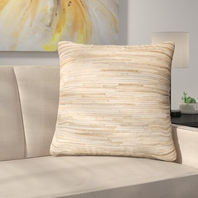 Samaras Throw Pillow Color: Beige