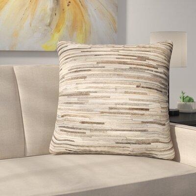 Samaras Throw Pillow Color: Gray