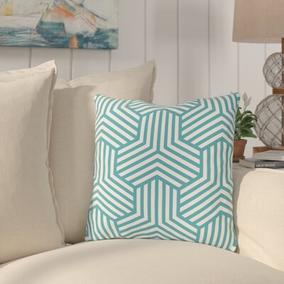 Fentress Throw Pillow Size: 18 x 18, Color: Blue