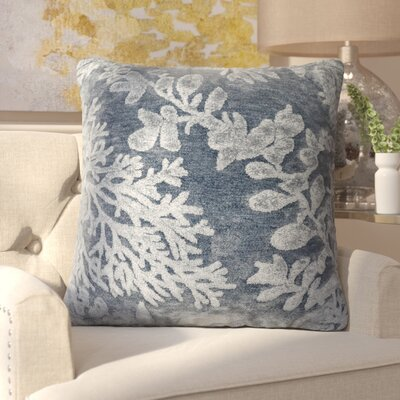 Nordin Throw Pillow Color: Denim