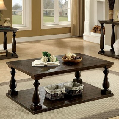 Image of Belford Wooden Coffee Table