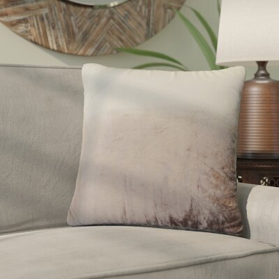Nystrom Ombre Throw Pillow Color: Chocolate
