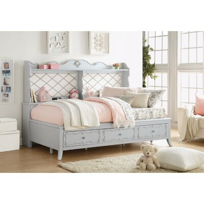 Suffield Wooden Daybed with Storage