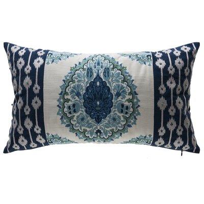 Tivoli Damask Outdoor Lumbar Pillow