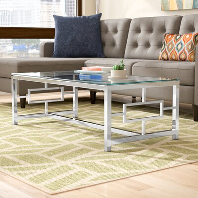 Gantz Coffee Table Color: Silver