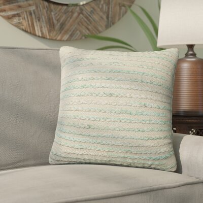 Jerald Throw Pillow Size: 18 H x 18 W x 6 D, Color: Silver Sage