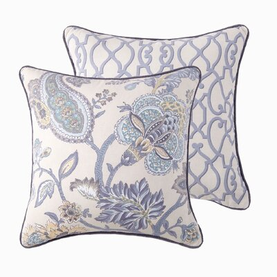 Sheldon Jacobean Throw Pillow