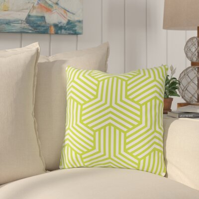 Fentress Throw Pillow Size: 18 x 18, Color: Green