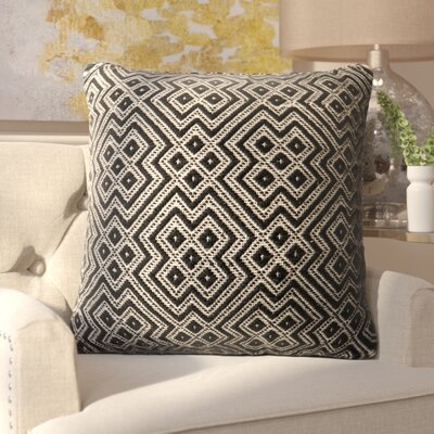 Halewood Outdoor Throw Pillow Color: Black