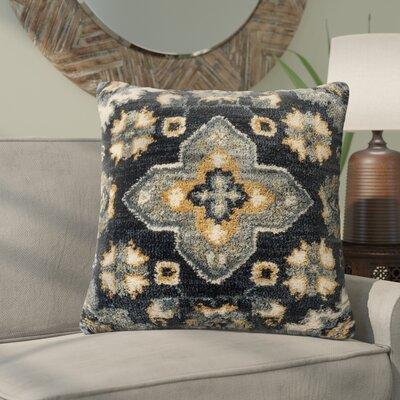 Lomita Throw Pillow Color: Blue/Multi