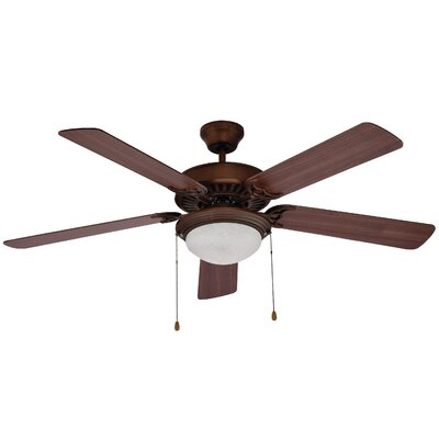 52 Rhone 5 Blade Ceiling Fan Finish: Rubbed Oil Bronze