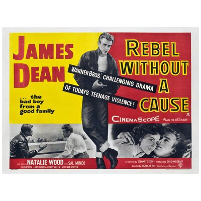 'Rebel Without a Cause' Vintage Advertisement A79010C9C0DB4545BAFC22F506941161