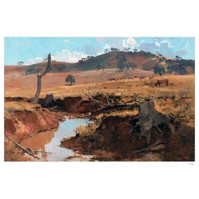 'The Creek' Oil Painting Print 7BFE4EC6E1BD469F825A167B0BD96358