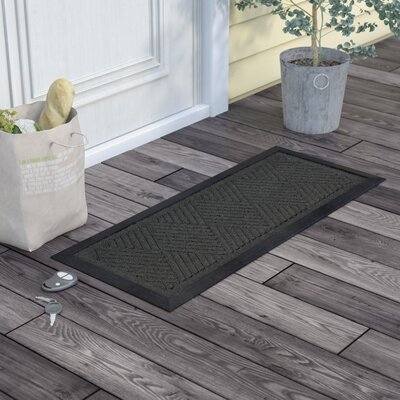 Amald Diamond Boot Tray Color: Charcoal