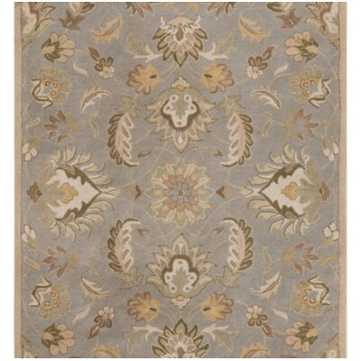Koester Hand-Tufted Wool Sage Green Area Rug