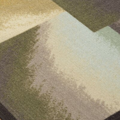 Grissett Brown/Blue/Green Area Rug
